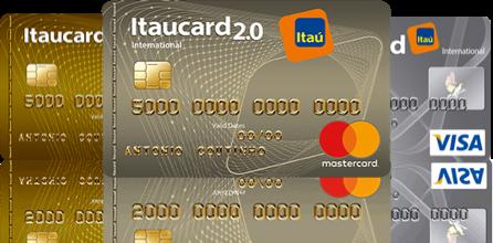 cartões itaú